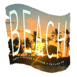 BEACH Escape Womens Tank Top-nelsonmakesart