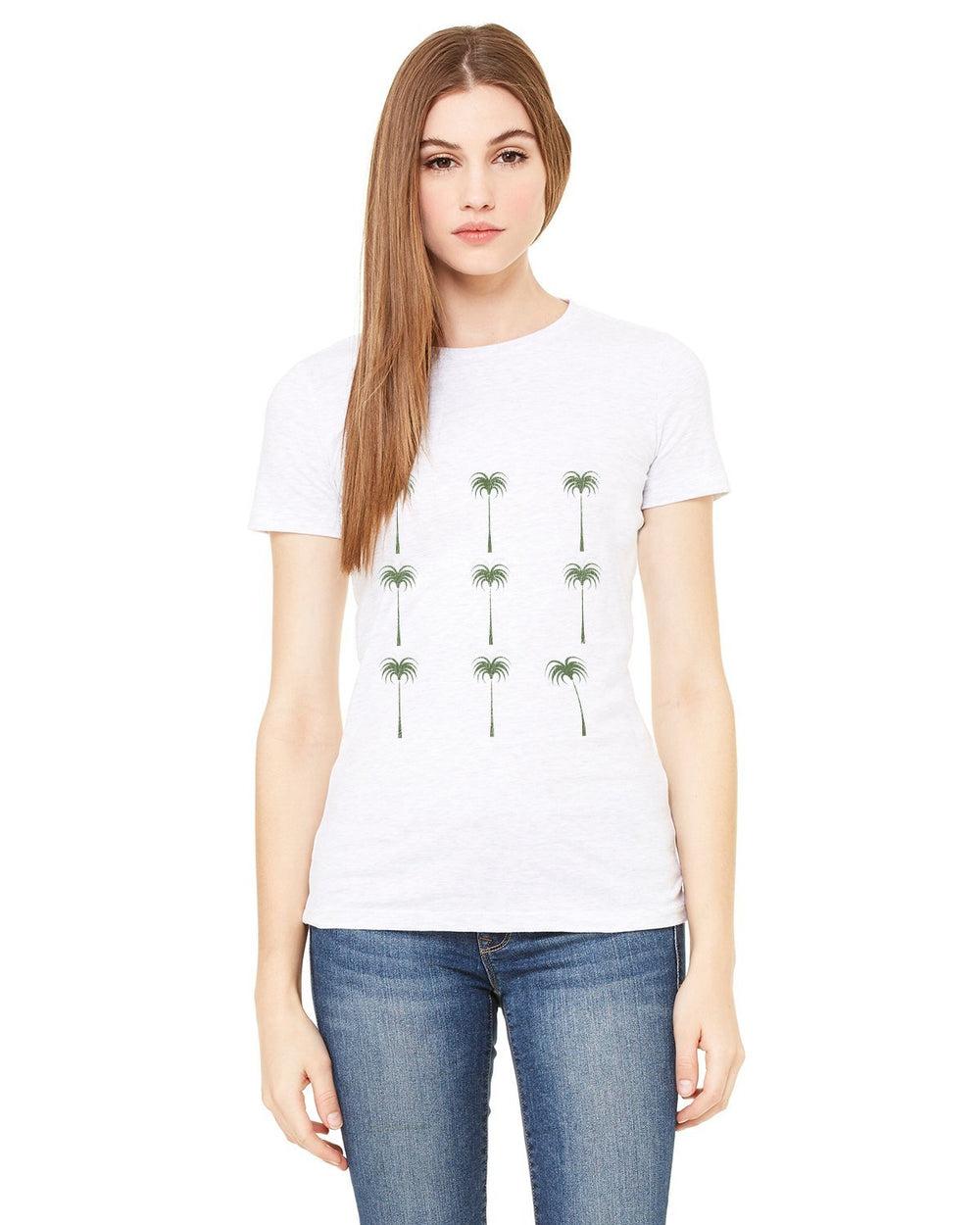 Palms Forever Ladies T-shirt-nelsonmakesart