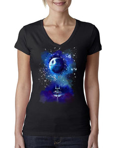 Star Wars - A New Hope Awakens Womens T-shirt-nelsonmakesart