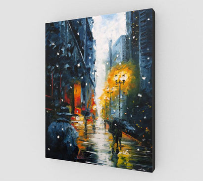The Walking Man Art Canvas | nelsonmakesart
