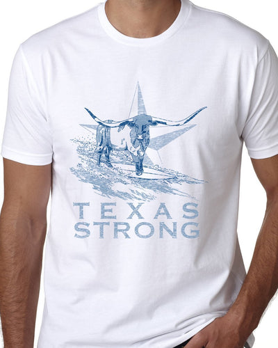Hangin Tough - Texas Strong White T-shirt