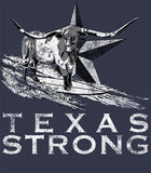 Hangin Tough - Texas Strong Blue Mens T-shirt-nelsonmakesart