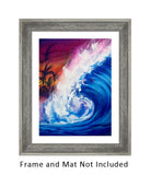 Typical Thursday Original Surf Art-nelsonmakesart