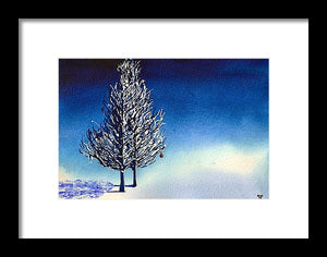 Christmas Card 14 - Framed Print