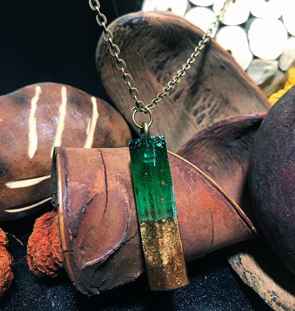 Natures Glow Pendant Necklace