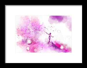 Dances On Water 4 - Framed Print