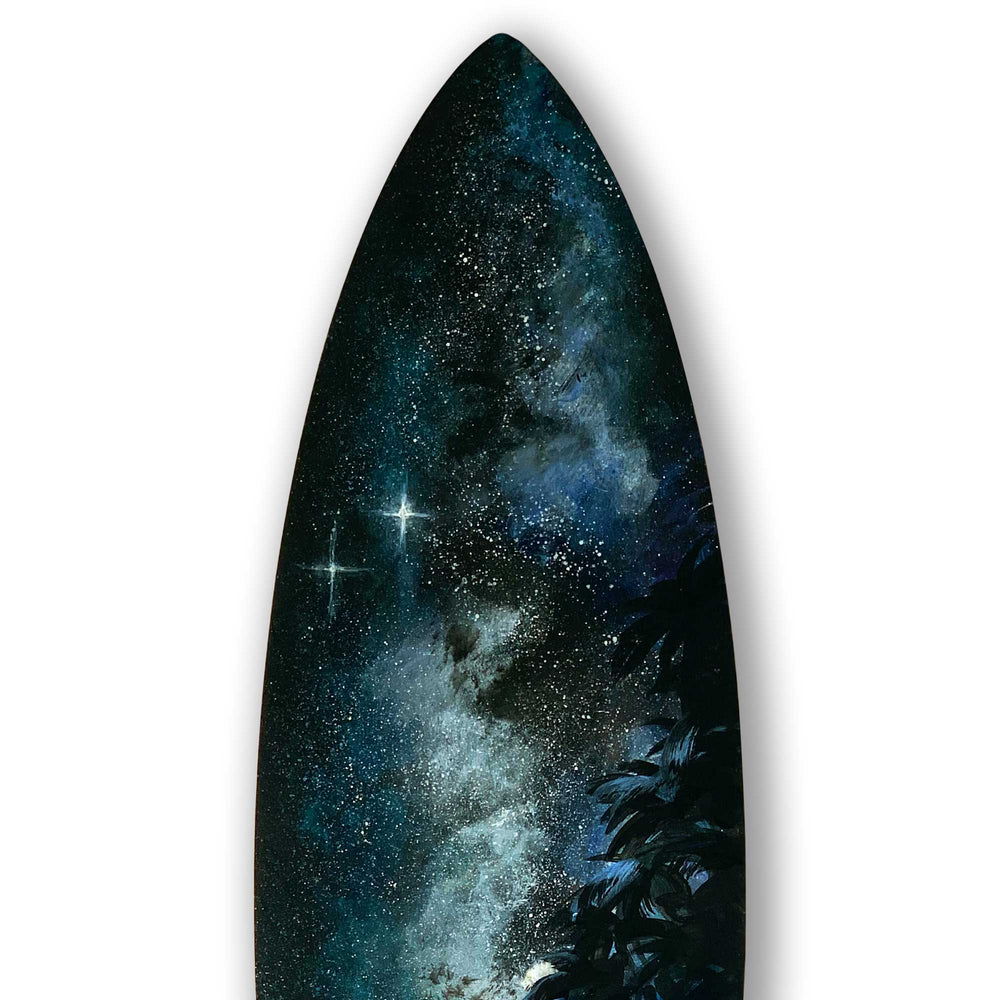 Starshine - Surfboard Wall Art