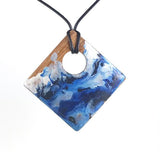 Tropical Seas Pendant Necklaces