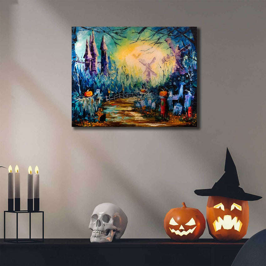 Dracula wall art by Nelson Makes Art