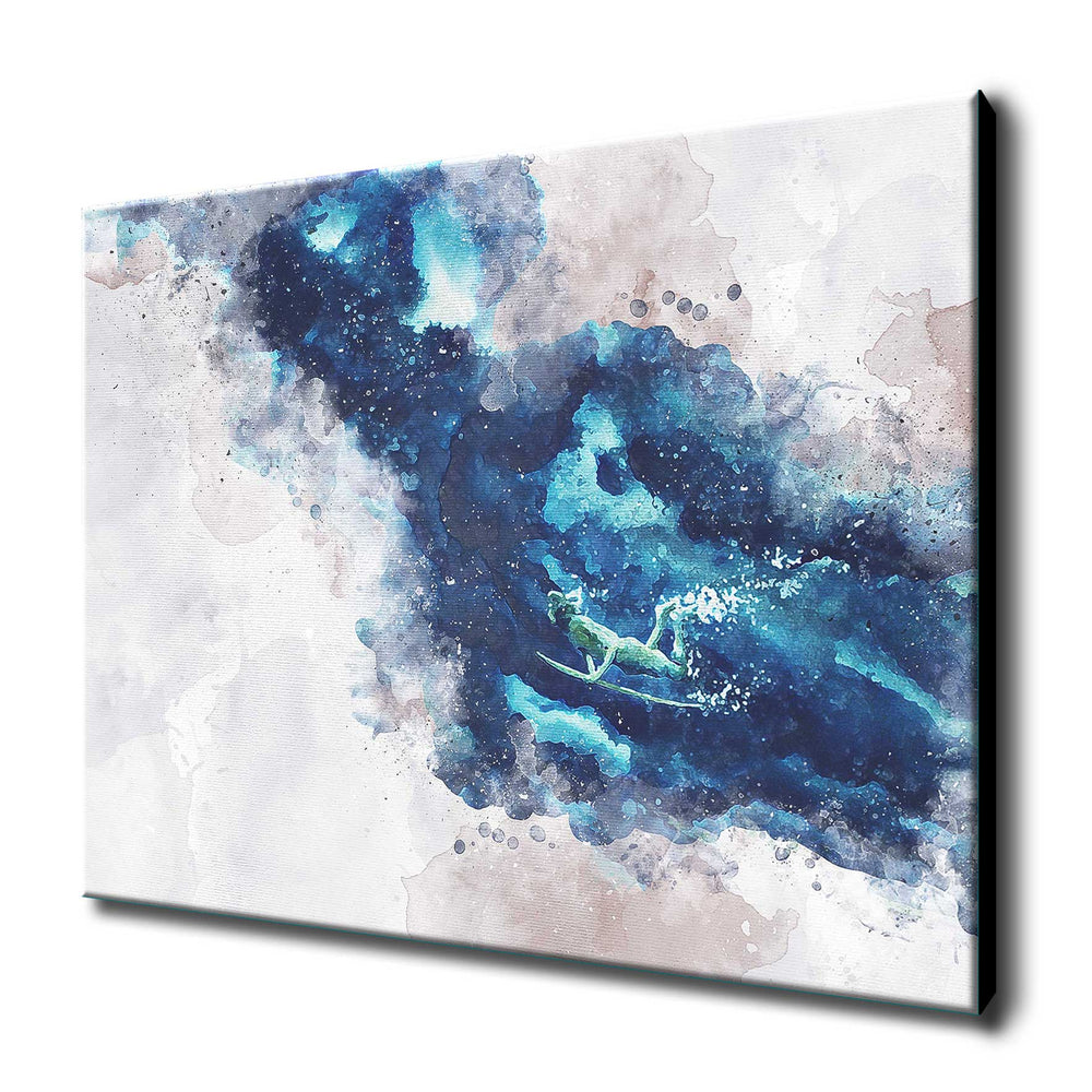 Duck Diver #reimagined #1 Art Canvas