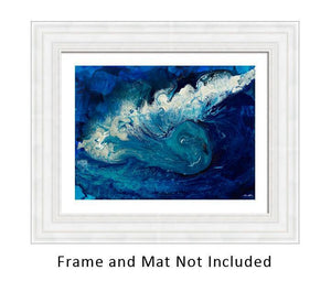 Sea Dragon II Original Abstract Art-nelsonmakesart