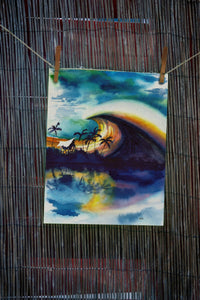 Stormridge Reef Hand painted art-nelsonmakesart