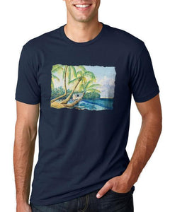 Lighthouse Reef T-shirt - nelsonmakesart
