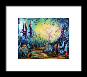 In The Pale Moonlight, Vol.1 - Framed Print