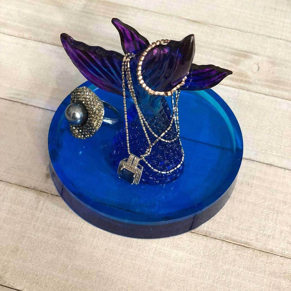 Cute Jewelry Holder of Mermaid Tails by Nelson Makes Art
