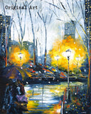 Solstice in the City Limited Edition Embellished Print