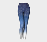 Winter Snow Solstice Night Leggings-nelsonmakesart