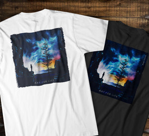 Ryan Farish's Art for Life Album Art T-shirt