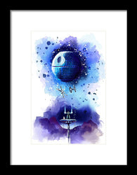 Star Wars - A New Hope Awakens - Framed Print