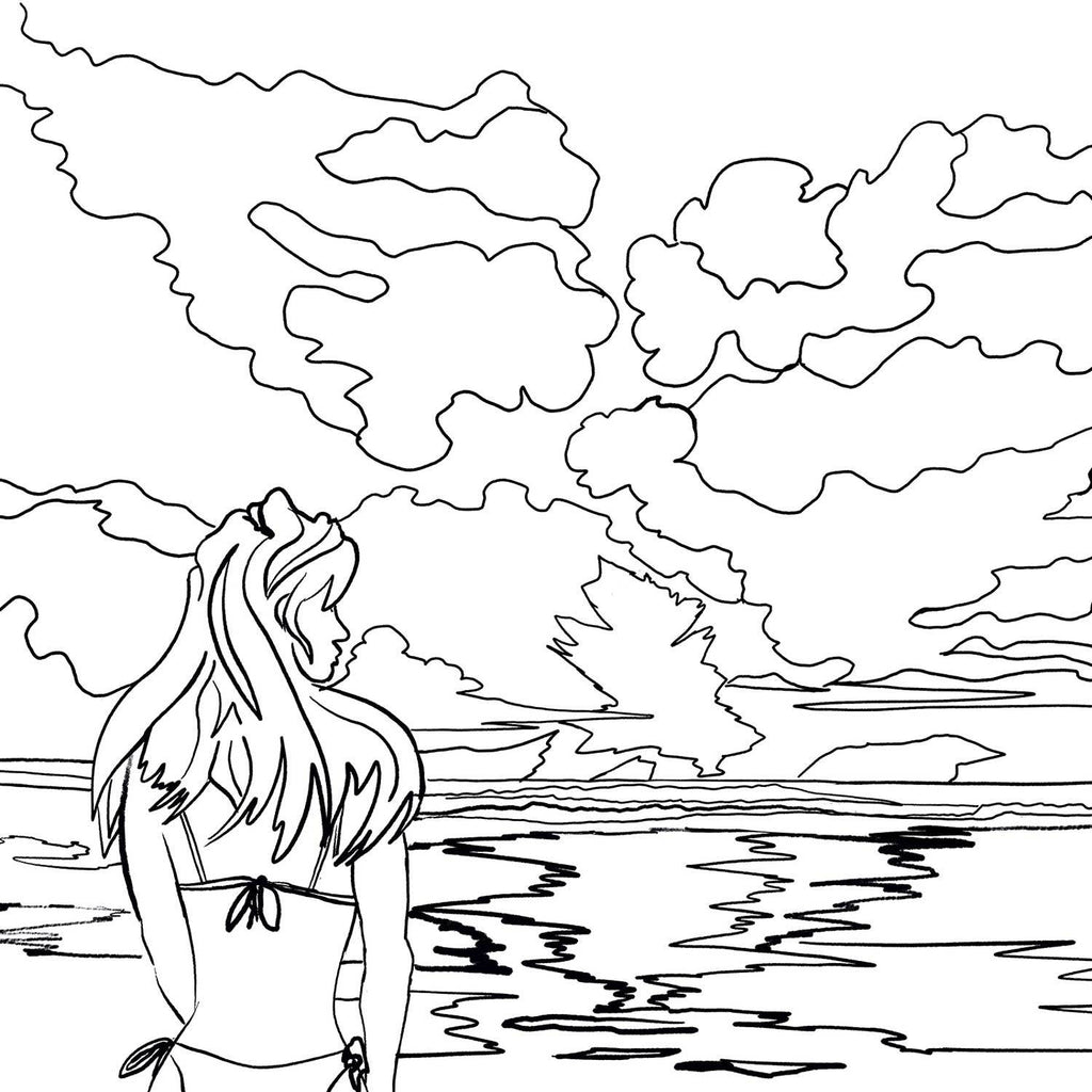 Sunset Coloring Pages To Download And Print For Free - Coloring Home | 1024x1024