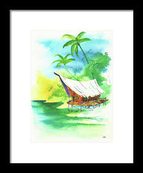 Tropic Life 8 - Framed Print