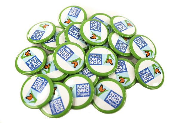 Package H: 100 Non-GMO Project Buttons