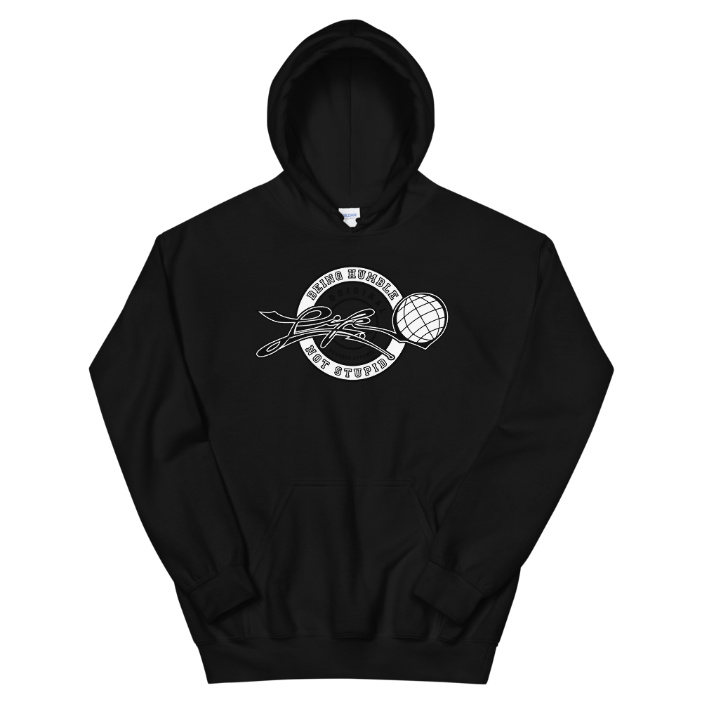 LIFE™ Original 'Being Humble, Not Stupid' Heavy Weight Hoodie