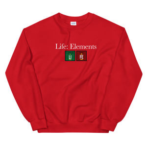 LIFE™ Essential 'Life: Elements' Sports Heavy Weight Sweatshirt