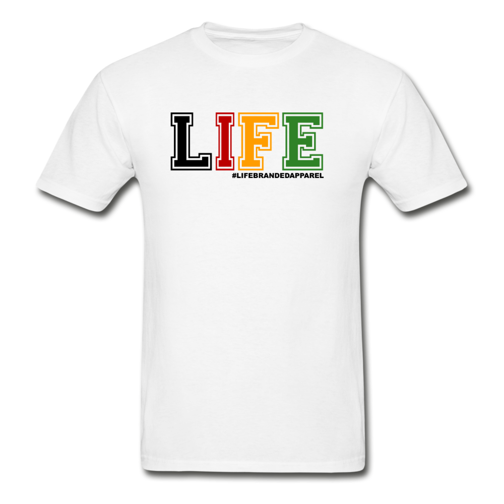 LIFE™ Original '(Energy) Inner G' Short Sleeve Tee - white