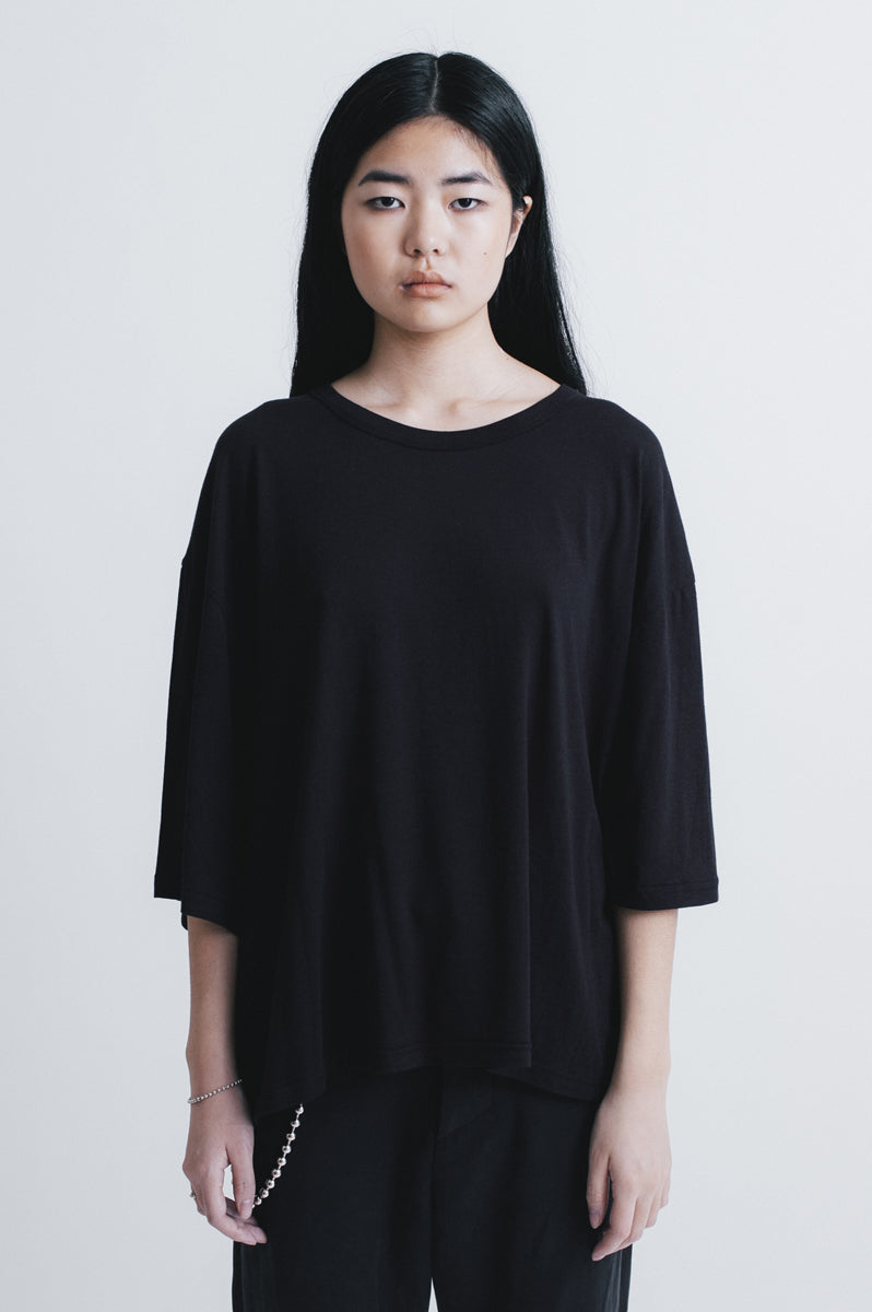 Dawn oversized  t-shirt black