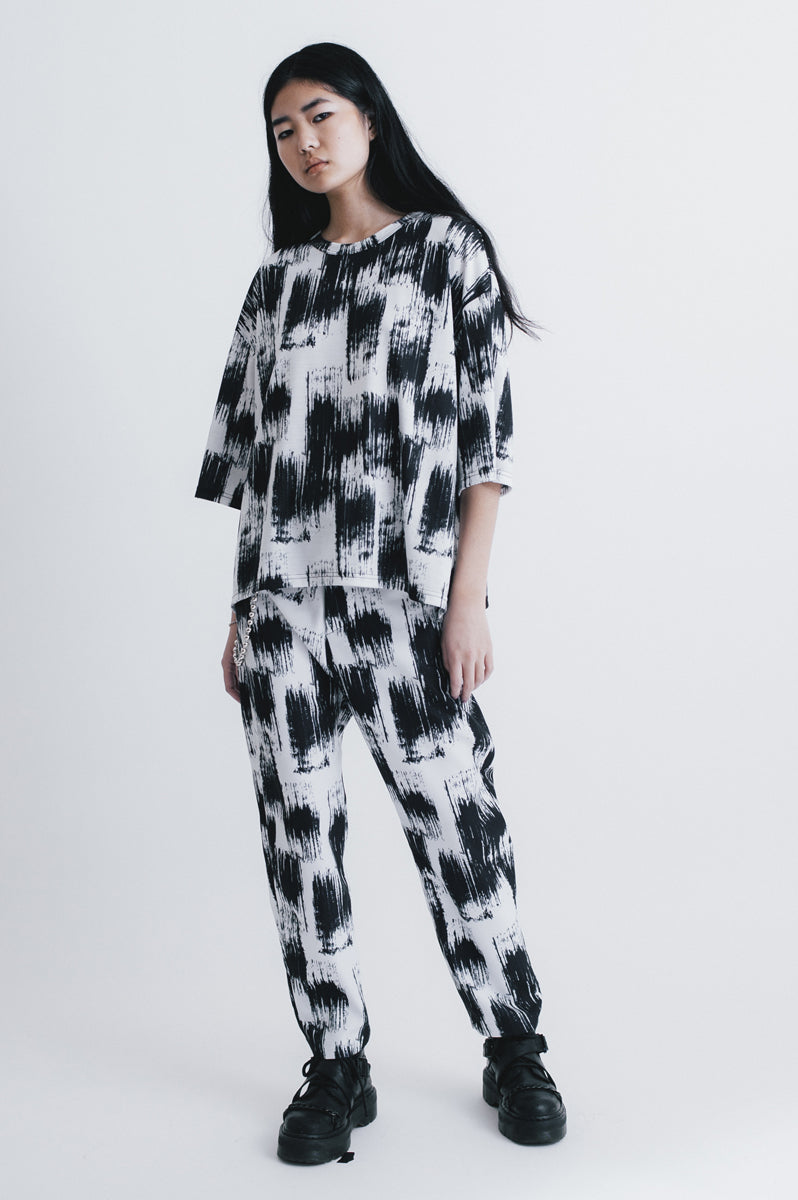 Dawn oversized t-shirt print