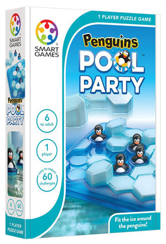 CE-9232 PENGUINS POOL PARTY