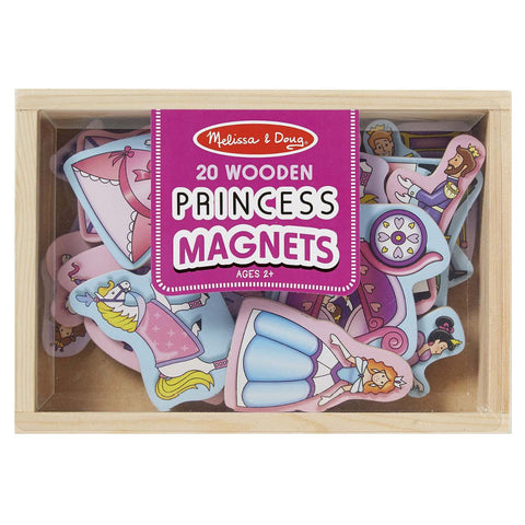 MD-19278 WOODEN PRINCESS MAGNETS