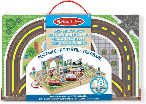 MD-40141 TAKE ALONG TABLETOP TOWN