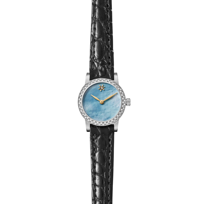 AGNES MINI WATCH - BLUE MOTHER OF PEARL