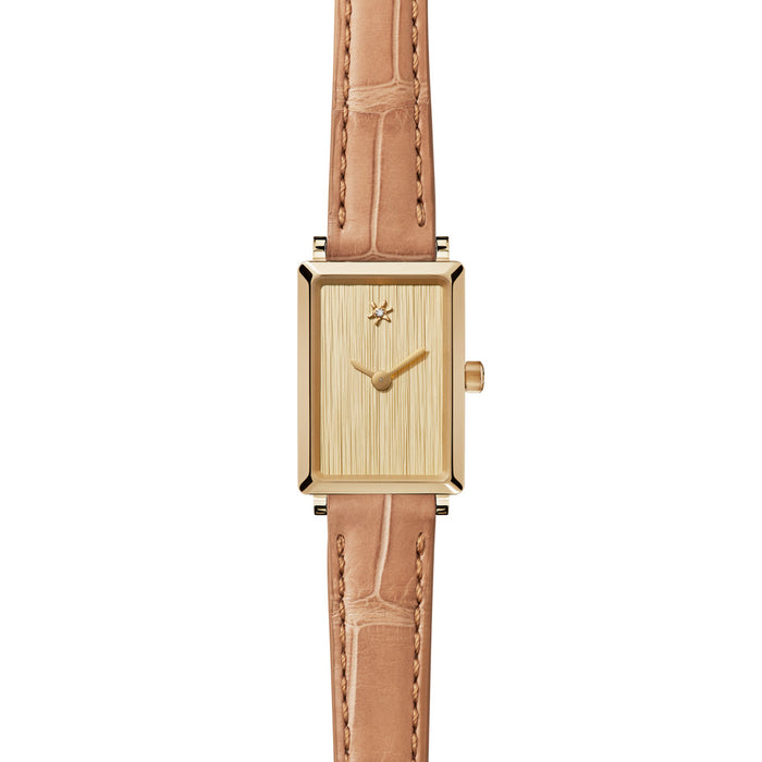 SHIRLEY MINI WATCH - BRUSHED GOLD