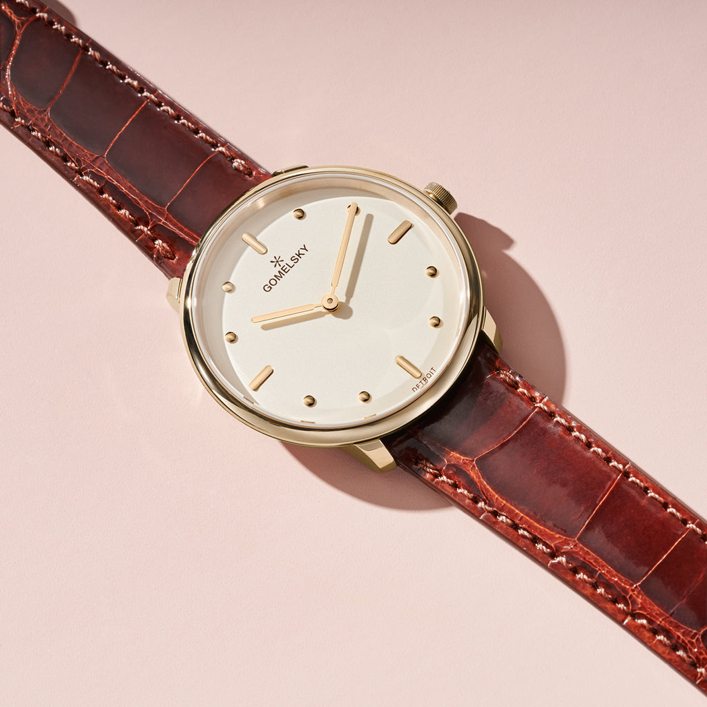 AUDRY WATCH - CHAMPAGNE OPALINE