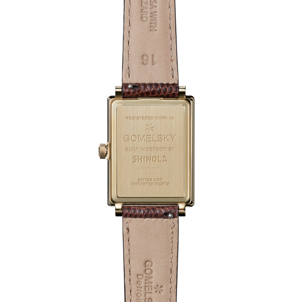 SHIRLEY WATCH - BROWN