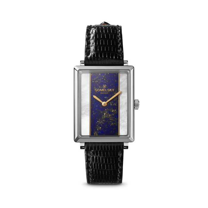 SHIRLEY WATCH - LAPIS + MOTHER OF PEARL
