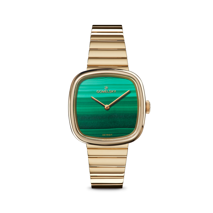 EPPIE MINI WATCH - MALACHITE