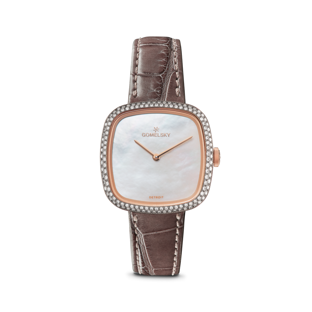 EPPIE MINI WATCH - MOTHER OF PEARL