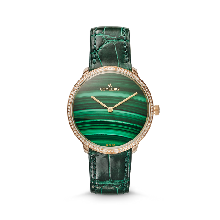 AUDRY WATCH - MALACHITE