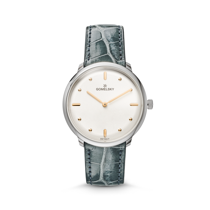 AUDRY WATCH - SILVER OPALINE