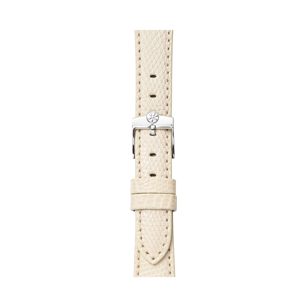 WATCH STRAP - IVORY LIZARD 16mm