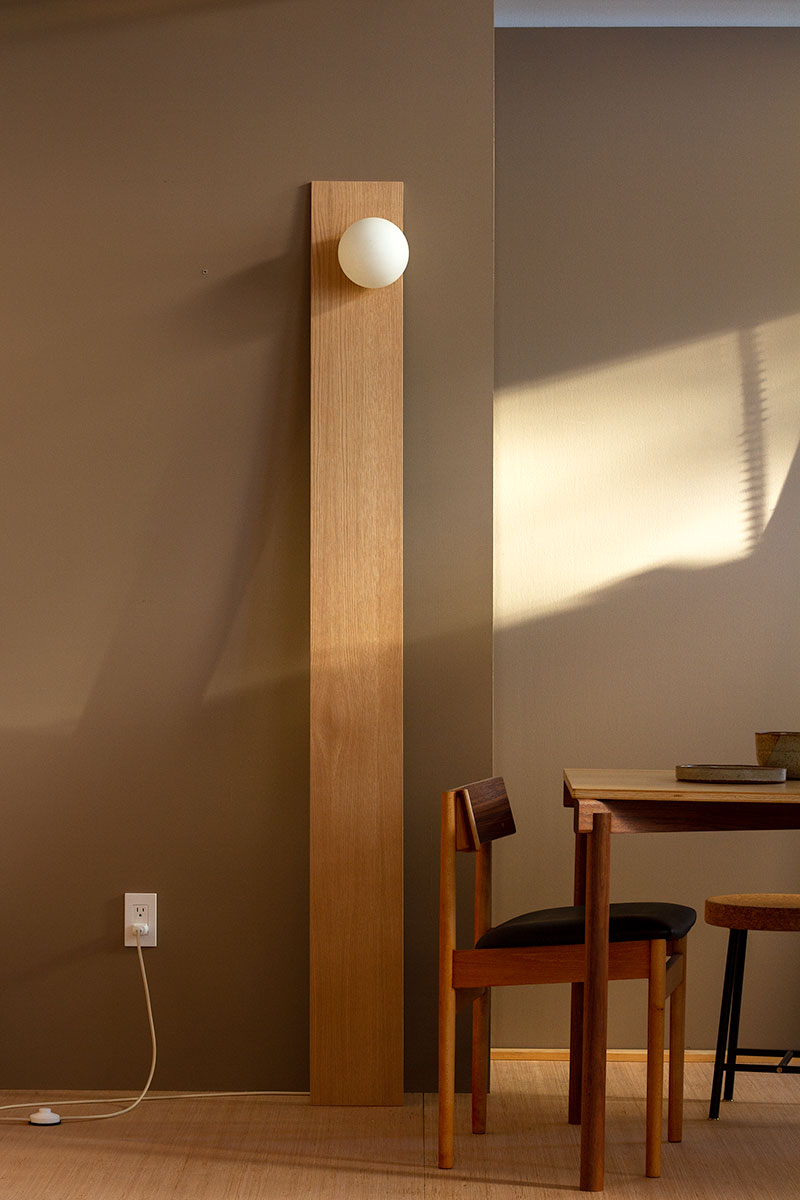 Tall - a floor lamp
