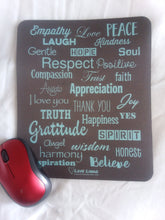 Love Lingo Aqua-Marine Mouse Pad (Gemstone/Jewelry Pads) - Love Lingo