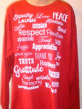 Cardinial Red Love Lingo Unisex Long Sleeve T-Shirt - Love Lingo
