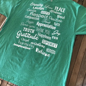 Irish Heather Green Love Lingo Unisex T-Shirt - Love Lingo