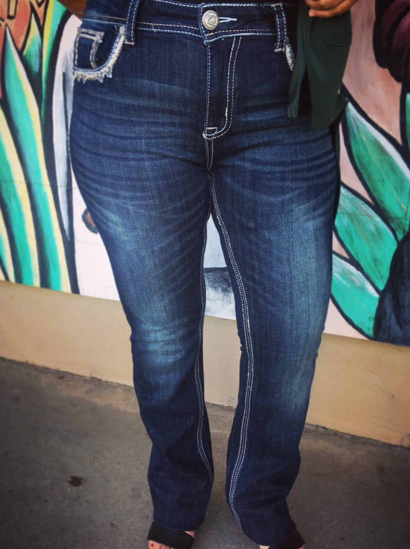High-Waisted Grace Jeans