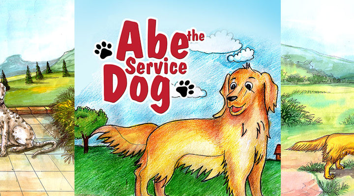 ABE THE SERVICE DOG | Free Children Book